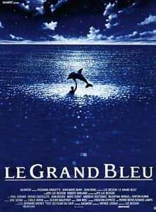 The Big Blue Poster: Dolphin Movies