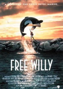 Free Willy Poster: Dolphin Movies